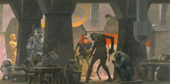 Ralph McQuarrie Mos Eisley Cantina