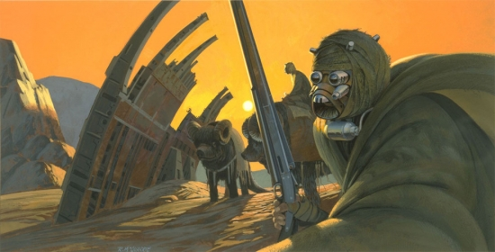 Ralph McQuarrie Sand people