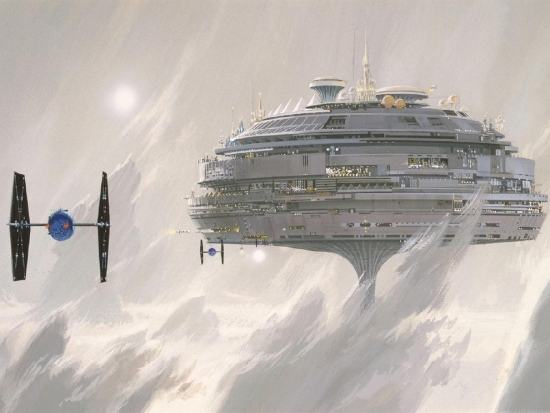 Ralph McQuarrie Yet another Cloud City