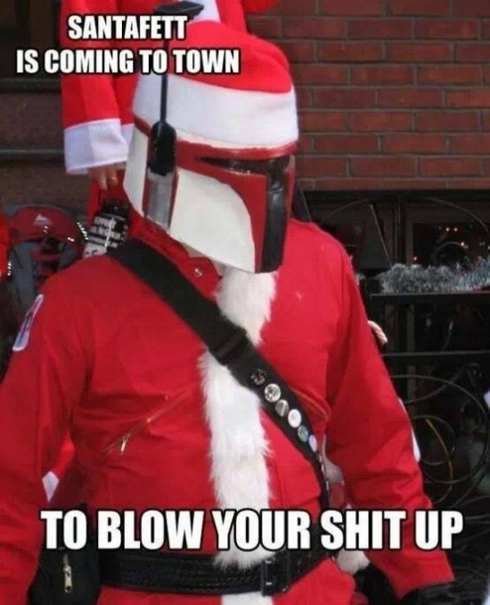 SantaFett is coming to town