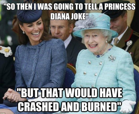 So then I was going to tell a Princess Joke
