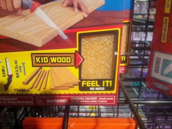 Somethings tells me Kid Wood wasnt the best name to use