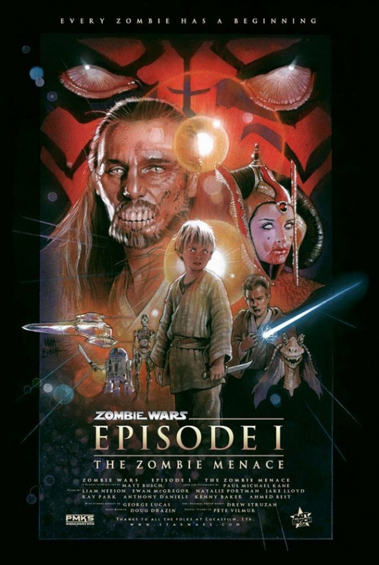 Star Wars EP1 The Zombie Menace