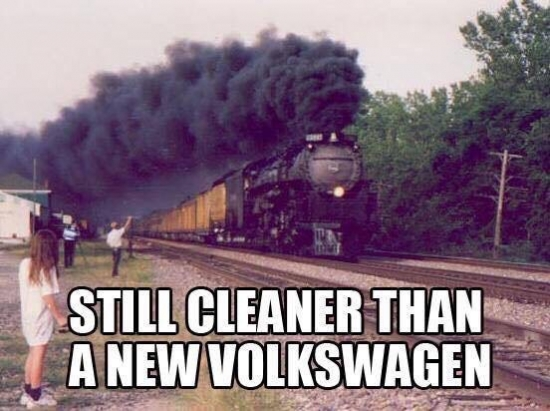 Still cleaner than a new volkswagen