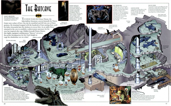 The Batcave More Detail