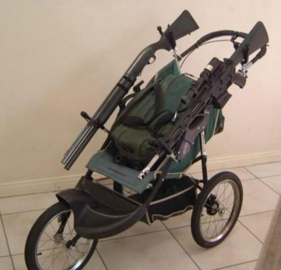 The Pushchair for the zombie apocalypse