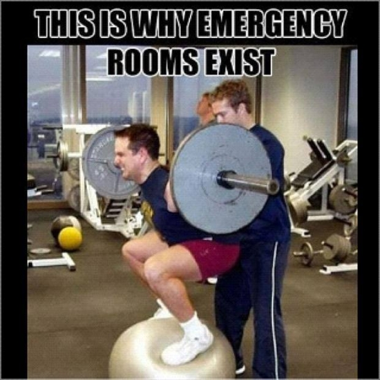 This is why Emergency rooms exists