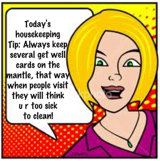 Todays House keeping tip
