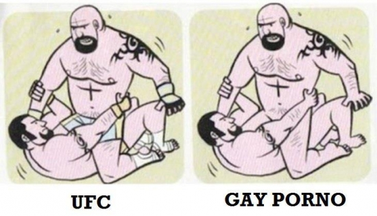 UFC gay porn with the pants