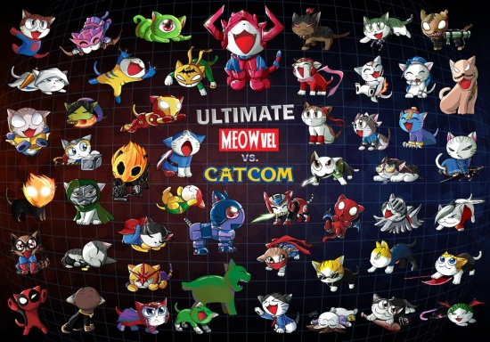 Ultimate Meowvel vs Catcom