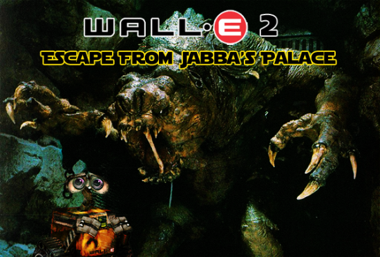 Wall E 2 Escape from Jabbas Palace