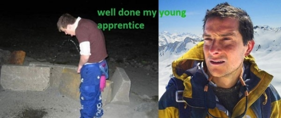 Well done my young apprentice