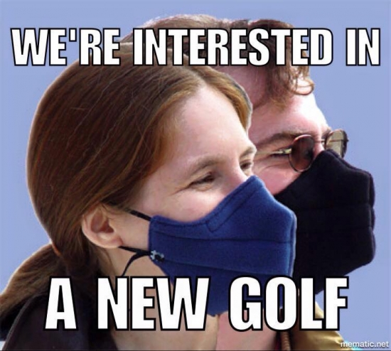 Were interested in a new Golf