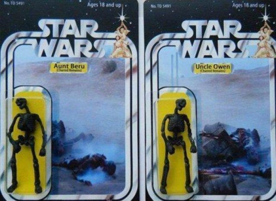 What If Star Wars Figures Aunt Beru and Uncle Owen