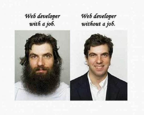 What web developers look like