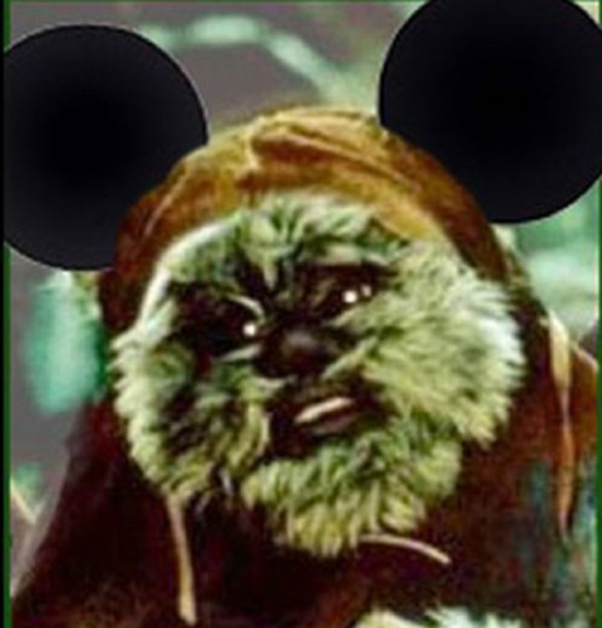 Wicket With Mickey Ears