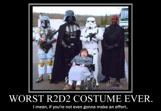 Worst R2D2 Costume Ever2
