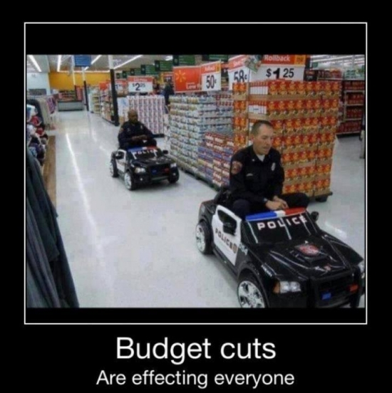 police budget cuts