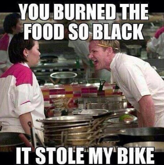 so black it stone my bike