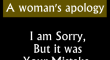 A Womans Apology