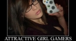 Attactive Girl Gamers