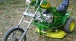 Bike Lawn Mower