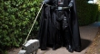 Darth Vader taking AT AT for a walk