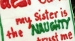 Dear Santa My Sister Is The Naughty
