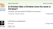 Is Christian Bale A Christian