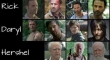 The Walking Dead Beard Evolution