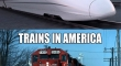 Trains In China And America