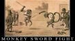 monkey fight with swords2