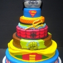 A Cake fit for Superheroes