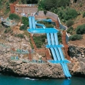 A water slide off a water slide off a water slide2