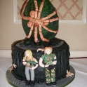 Alien Facehugger Cake