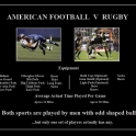 American Football vs Ruby