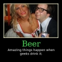 Beer Amazing things happen when geeks drink it2