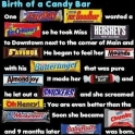 Birth of a candy bar