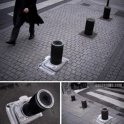 Bollard make to look like a camera