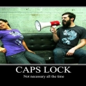 CAP LOCK not neccessary all the time2