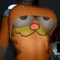 Can you handle Garfield staring at you