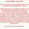 Can you read it