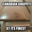 Canadian Graffiti at its finest