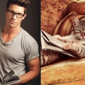 Cats That Look Like Male Models 12