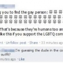 Challenging you to find the gay person