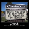 Church Google couldnt help can you2