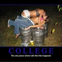College The only place where this happens2