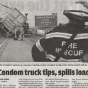 Condom Spills Its Load