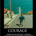 Courage I have a bad feeling about this2
