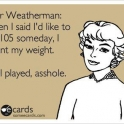 Dear Weatherman